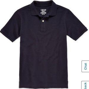 Boys IZOD Navy Blue Polo Shirt